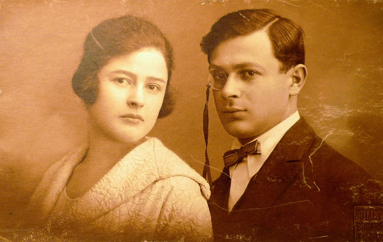 Samy Rosenstock (later Tristan Tzara ) and his sister Lucia Rosenstock, 1902, Unknown, Private collection, Copyright Not Evaluated