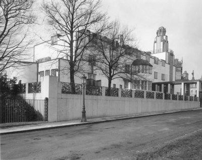 Palais Stoclet, 1905-1911, Josef Hoffmann, KIK-IRPA, CC BY-NC-SA