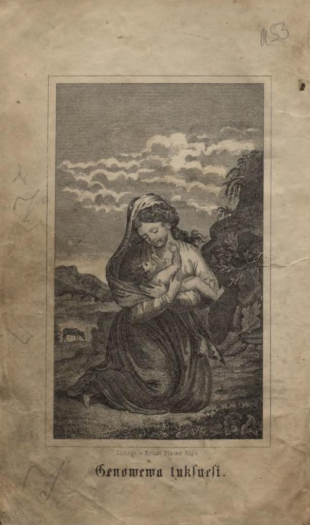 Grahfa Leelmahte Genowewa, 1878, Christoph von Schmid, National Library of Latvia, Public Domain Mark
