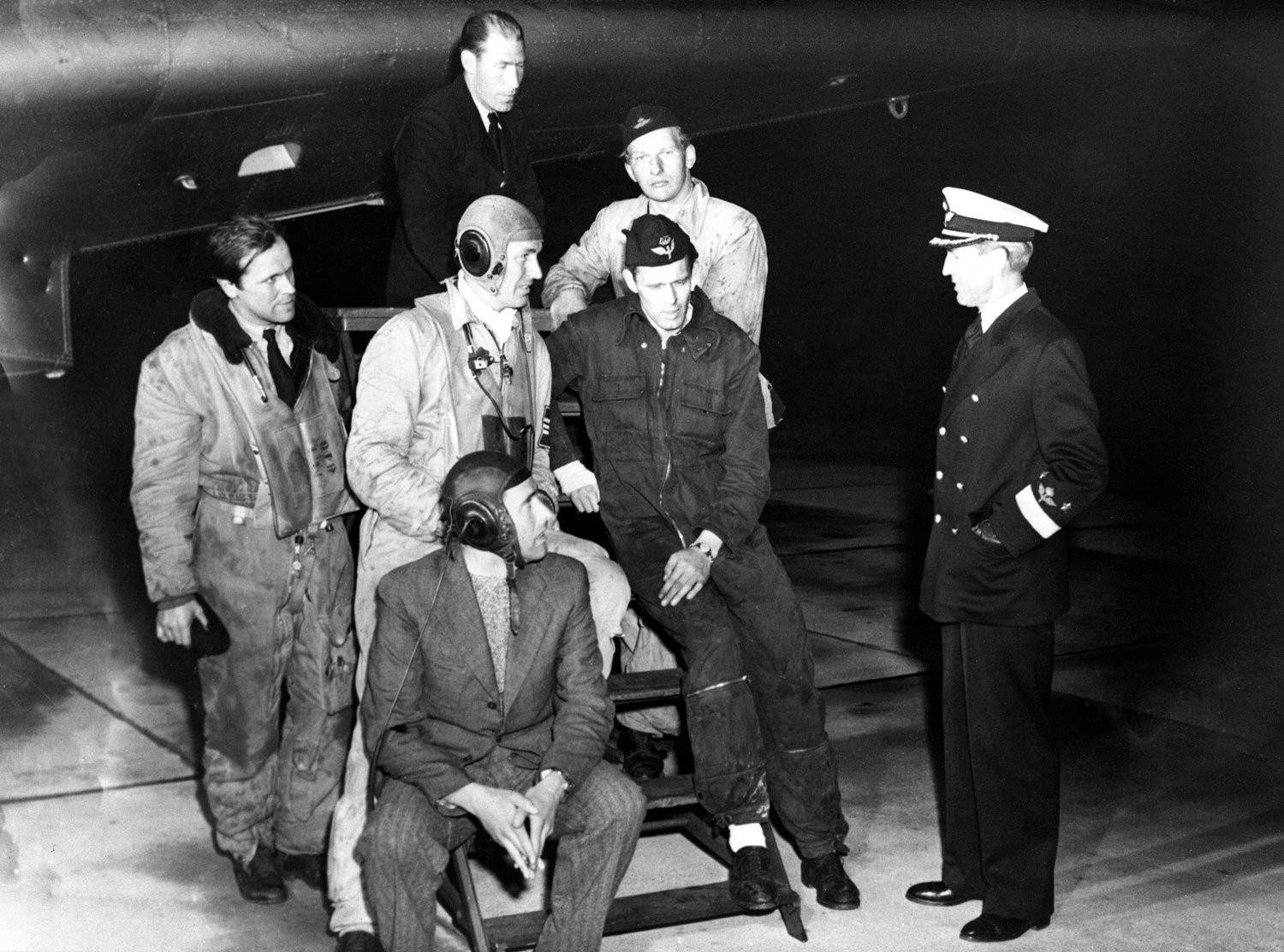 Crew of the Swedish Catalina shot down by Russia, TopFoto, TopFoto, In Copyright