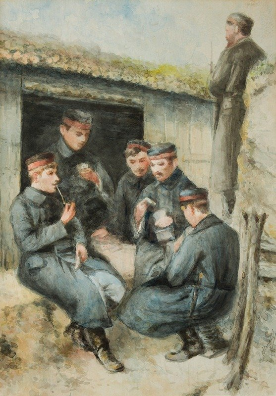 Belgian infantrymen in the trenches, 1914-1918, E. Steyaert, Europeana 1914-1918, CC BY-SA