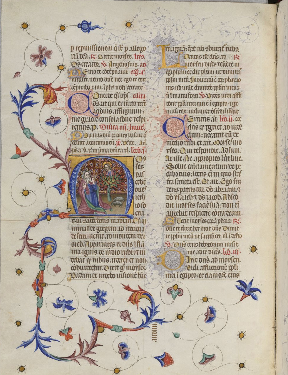 The Breviary of Martin of Aragon f398, Catalonia, between 1398 and 1410 and around 1420-1430, French National Library, Manuscripts, Rothschild 2529 Parchment, 454 ff., 350 x 252 mm. , In Copyright