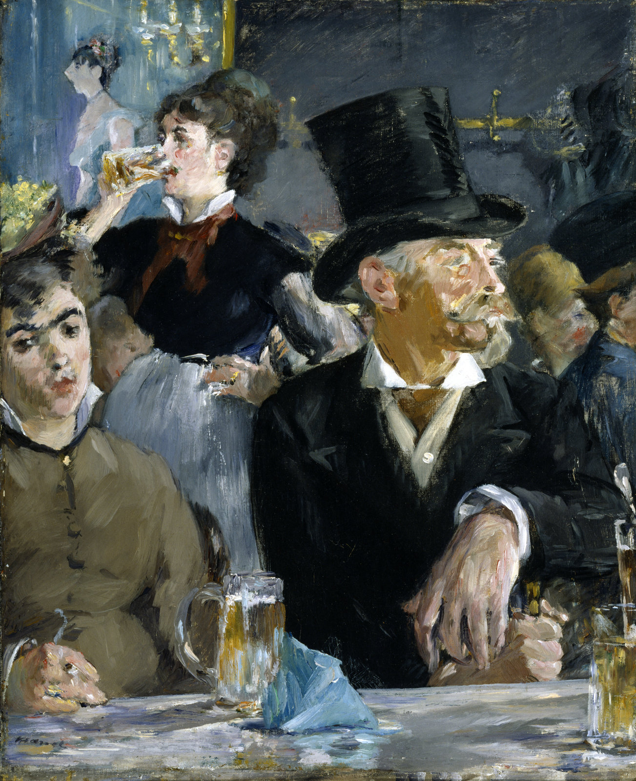The Café-Concert, ca. 1879, Édouard Manet, The Walters Art Museum, CC0