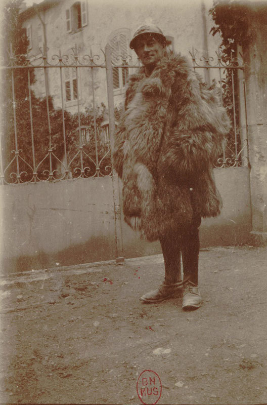 Maurice Ravel en soldat [Maurice Ravel as a soldier], unknown photographer, Bibliothèque nationale de France, No Copyright - Other Known Legal Restrictions