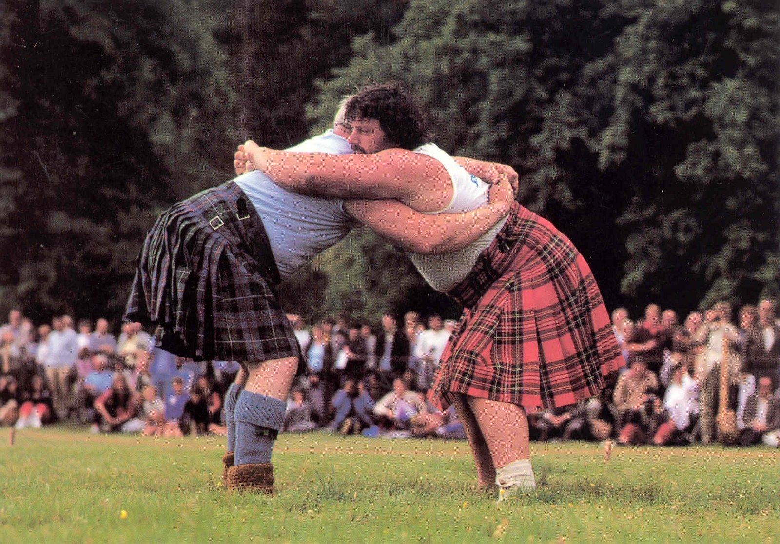 Wrestling at the Highland Games, Braemar Films Limited, Sportimonium, Hofstade, In Copyright