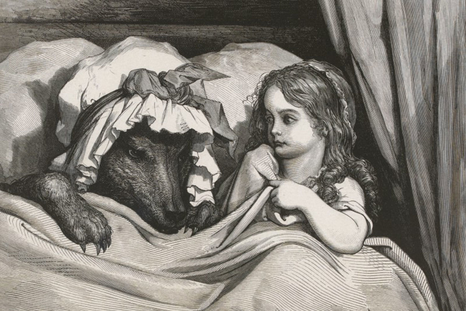 Les contes de Perrault [Perrault's Fairy Tales], 1862, Illustrated by Gustave Doré, Bibliothèque nationale de France, No Copyright - Other Known Legal Restrictions
