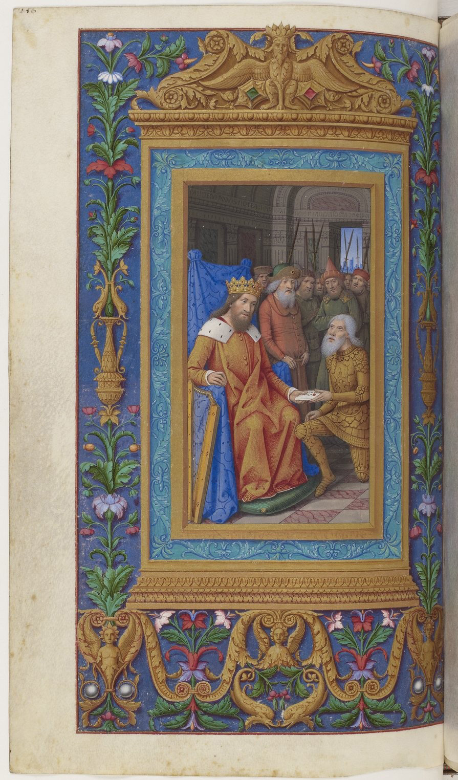 Book of hours of Frederic of Aragon f220, Tours, ca. 1501-1502, French National Library, Manuscripts, 10532 Parchment, 388 p., 255 x 170 mm, In Copyright