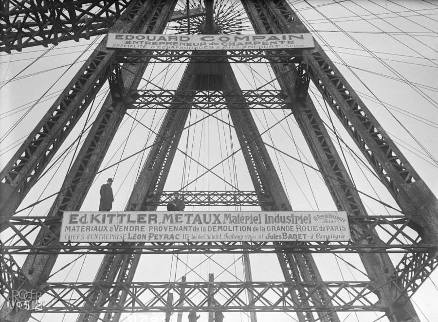 Demolition of the Big Wheel, 1920, Maurice-Louis Branger/Roger-Viollet, Parisienne de Photographie, In Copyright