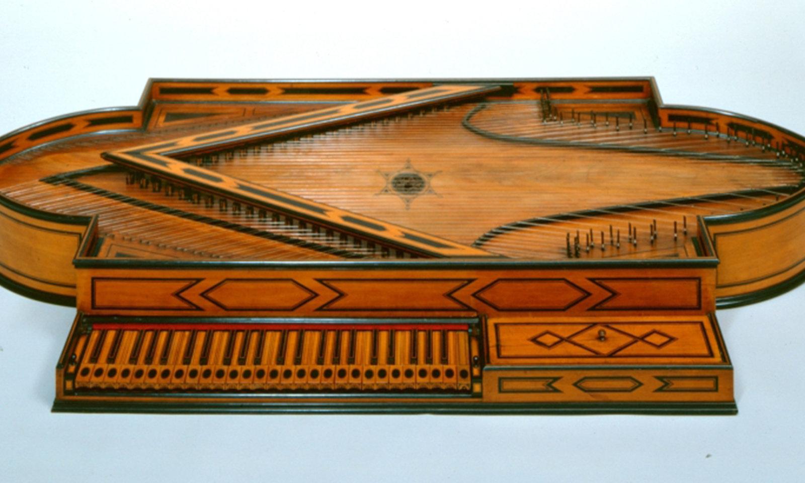 Spinett, Bartolomeo Cristofori, Museum für Musikinstrumente der Universität Leipzig, CC BY-NC-SA