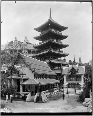 The pavilion of Siam (present Thailand), 1900, Léon et Lévy/Roger-Viollet, Parisienne de Photographie, In Copyright
