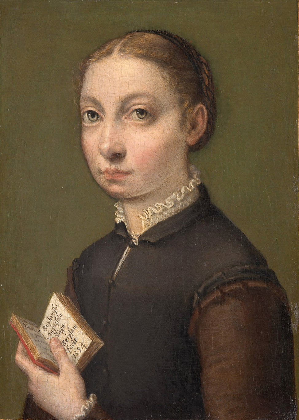 Self-portrait, 1554, Sofonisba Anguissola, Kunsthistorisches Museum, In Copyright