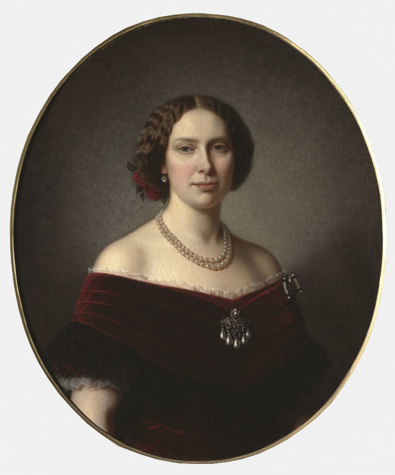 Lovisa, 1828-1871, Queen of Sweden, Amalia Lindegren, Nationalmuseum, Sweden, Public Domain Mark