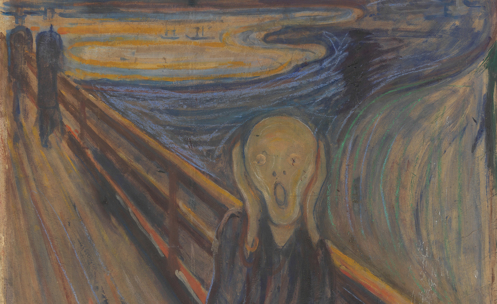 The Scream, 1893, Edvard Munch, The National Museum of Art, Architecture and Design , CC BY-NC