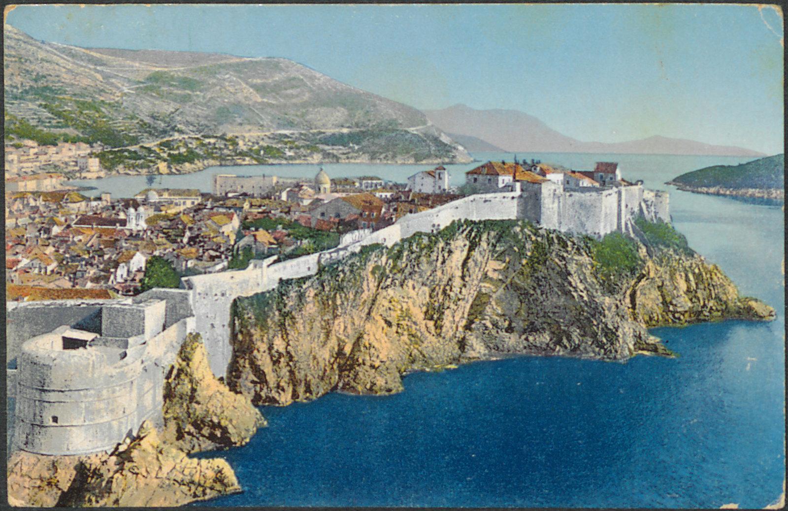 Dubrovnik [Ragusa], Tošović, National and University Library in Zagreb, Public Domain Mark
