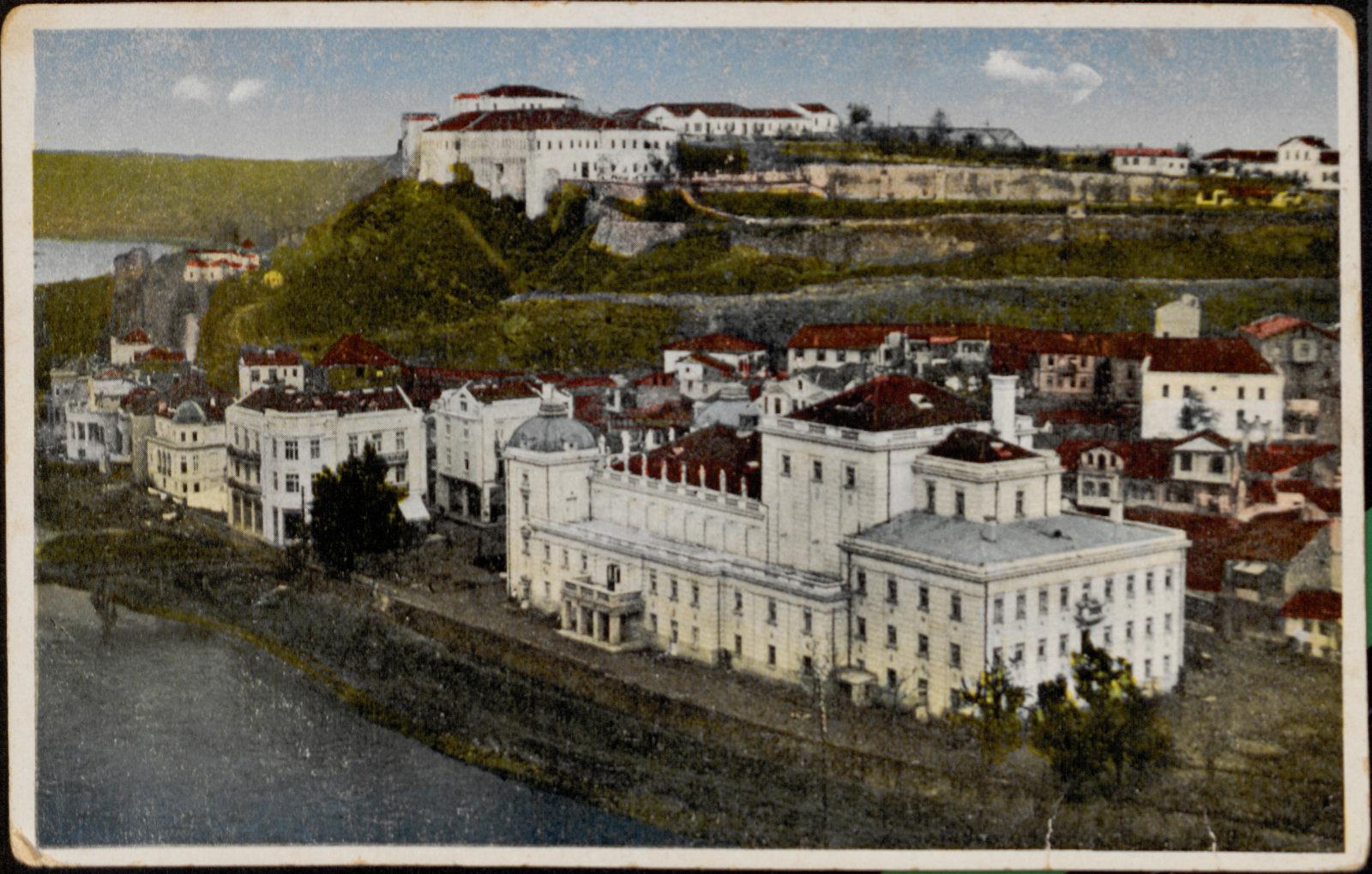 The National Theatre, Skopje, 1927, Trajko B. Stolić, National and University Library, Skopje, CC BY-NC-ND