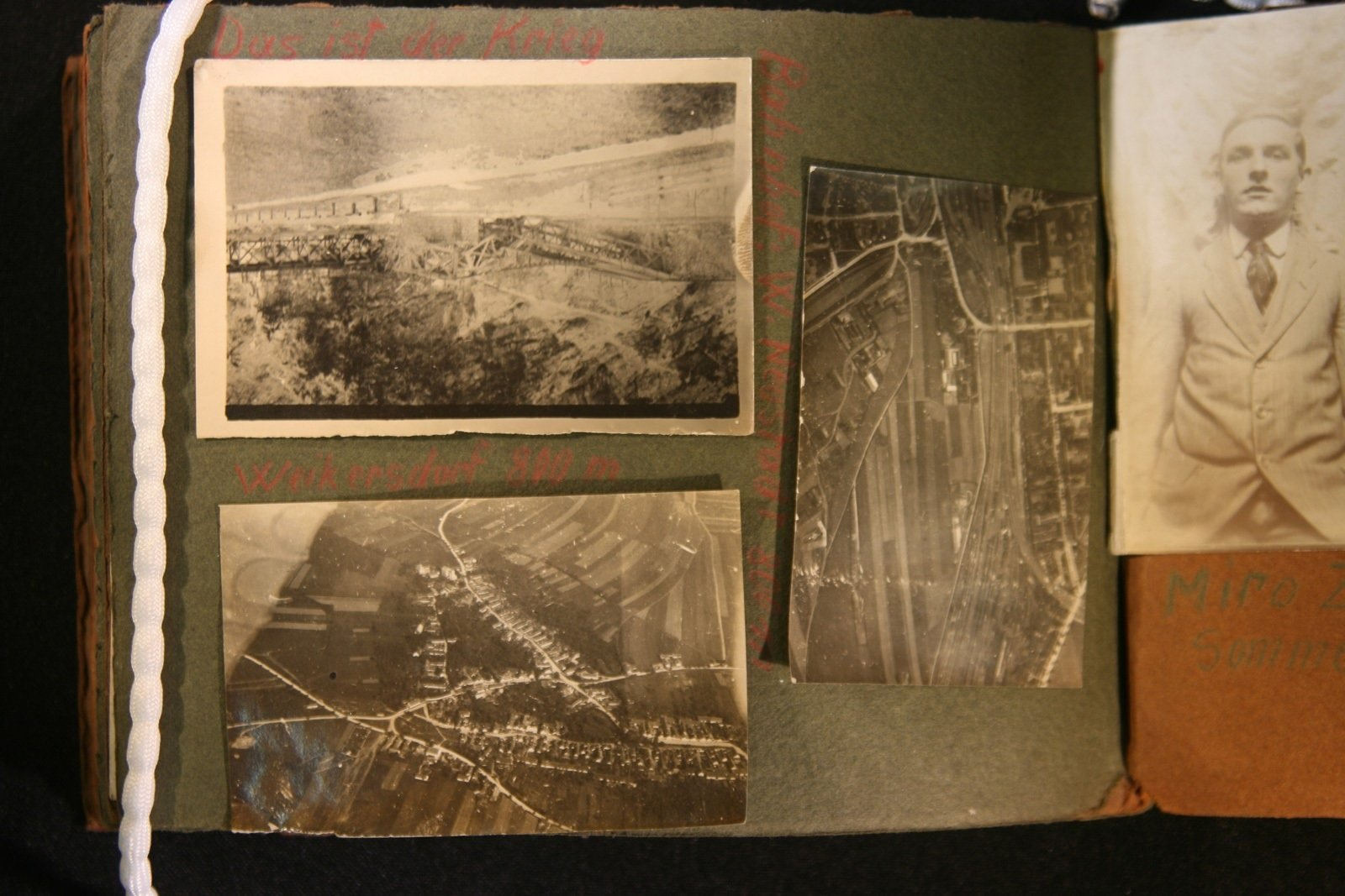 Three aerial shots, 1916, Europeana 1914- 1918 / Simon Kovačič, CC BY-SA