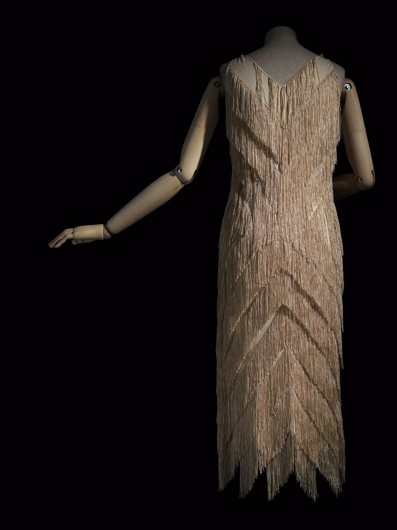 Fringed short evening dress, 1925, Madeleine Vionnet, Les Arts Décoratifs, In Copyright