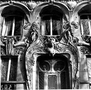 Immeuble France ; Ile-de-France ; Paris ; Paris 07  Porte de l'immeuble, Lavirotte, Ministère de la culture et de la communication, Médiathèque de l'architecture et du patrimoine, In Copyright