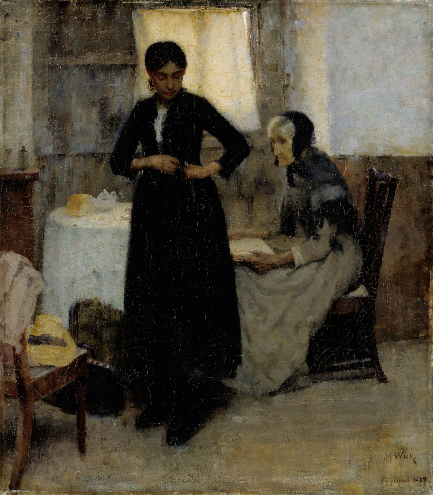 Out into the World, 1889, Maria Wiik, Finnish National Gallery, CC BY