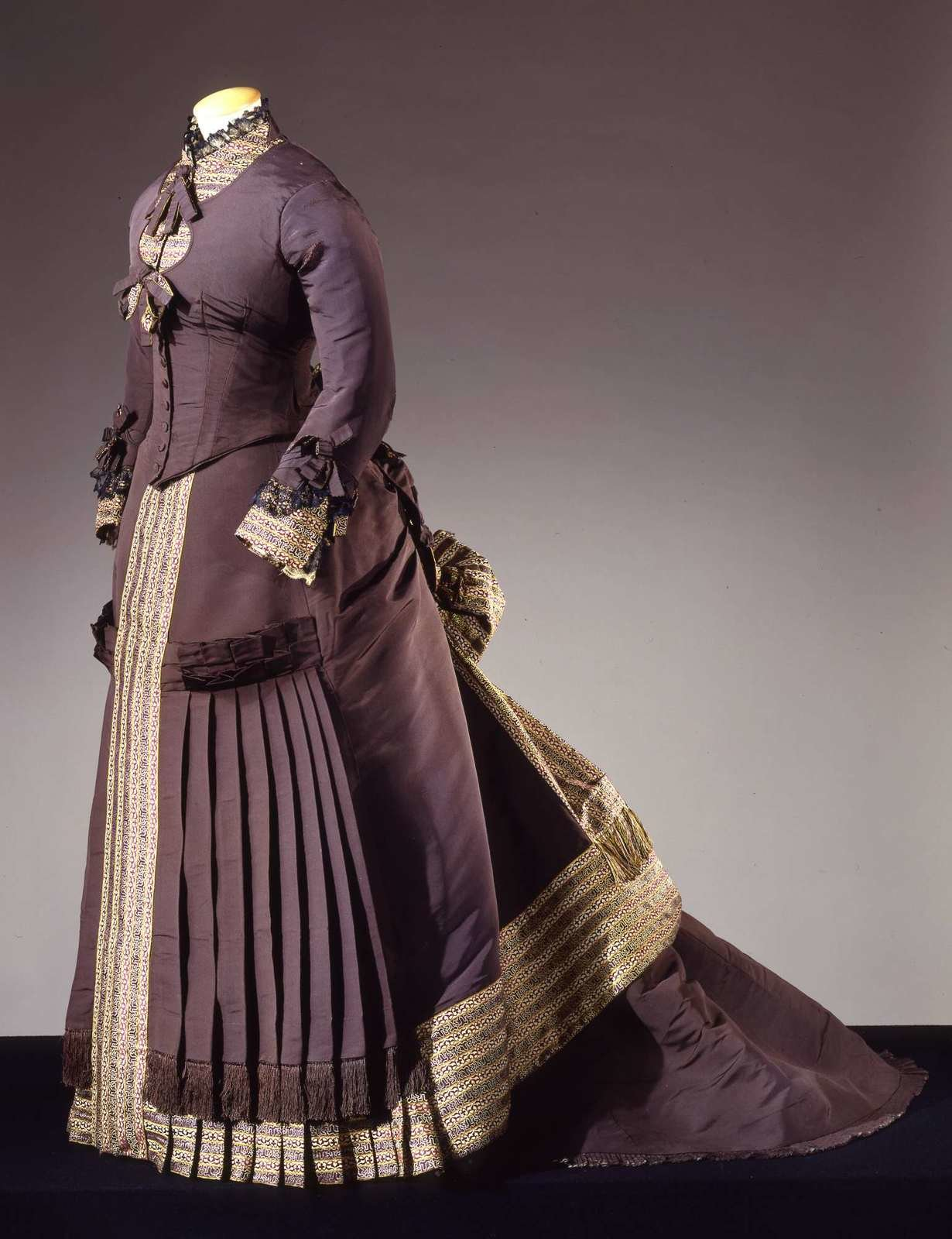 Two-piece gown, ca. 1878, Charles Frederick Worth, Galleria del Costume di Palazzo Pitti, In Copyright