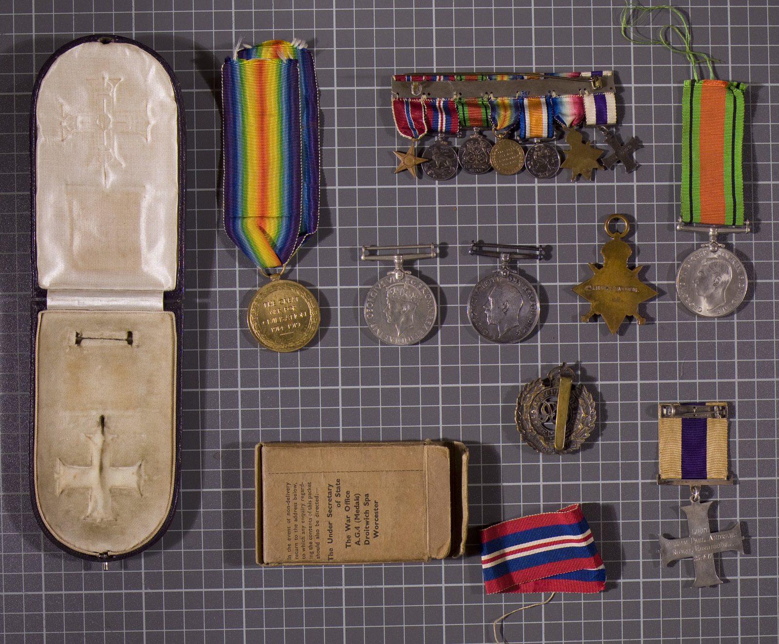 Medals - reverse, 25/4/1917, Europeana 1914-1918 / Michael Andrews, CC BY-SA