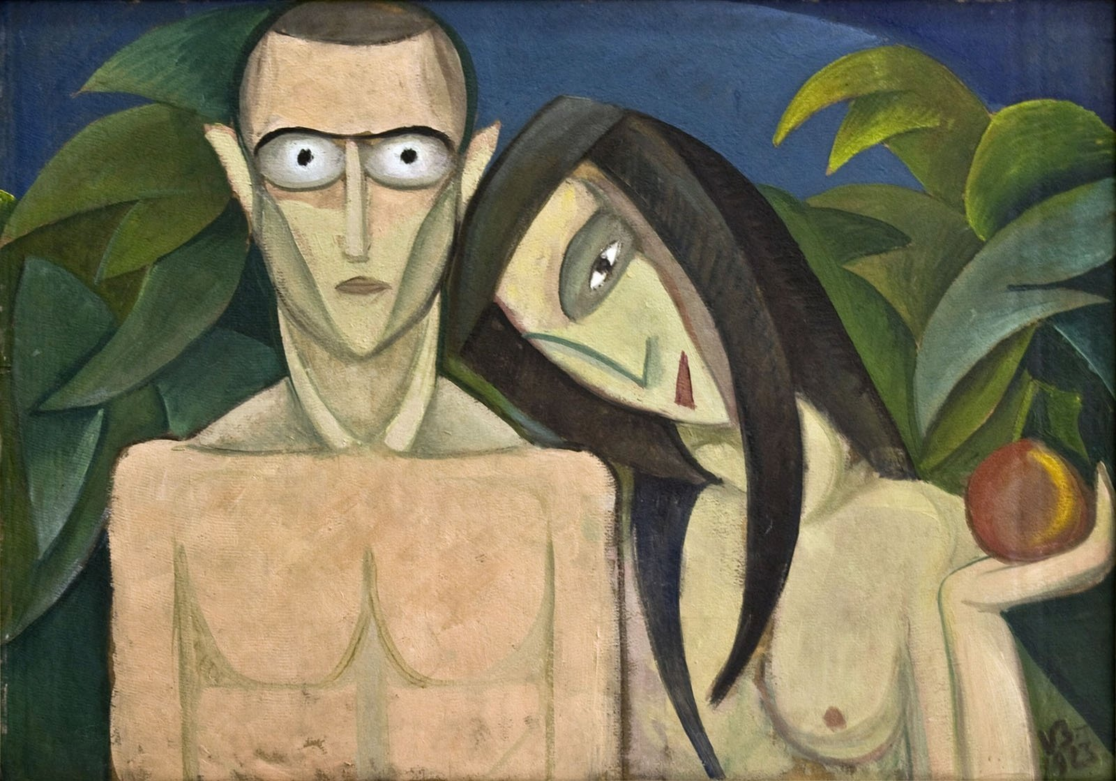 Adam and Eve, 1923,  Victor Brauner, The Eco- Museum Research Institute Tulcea, CC0