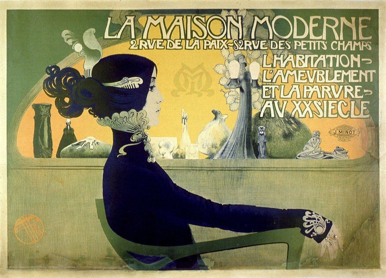 La Maison moderne, 1905, Manuel Orazi, Bibliothèque municipale de Lyon, Public Domain Mark