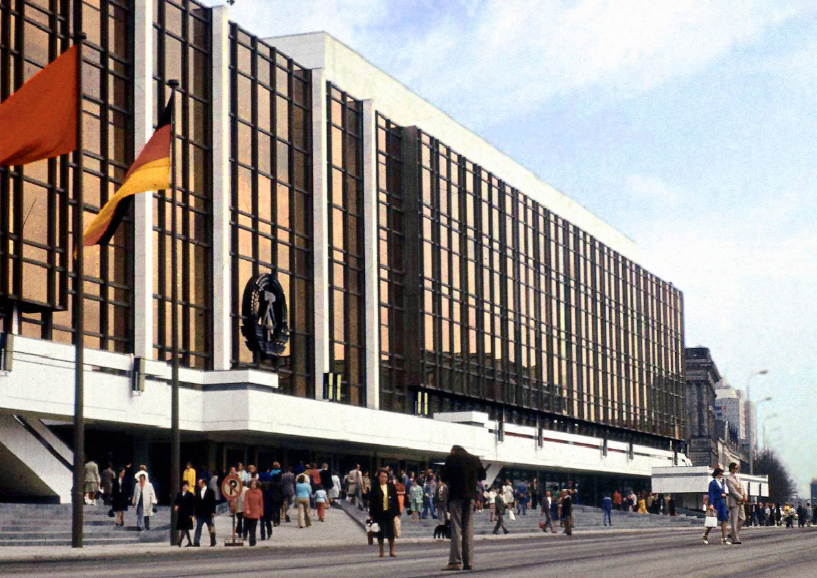 The Palace of the Republik, 1980s, Lutz Schramm, Wikimedia Commons, CC BY-SA