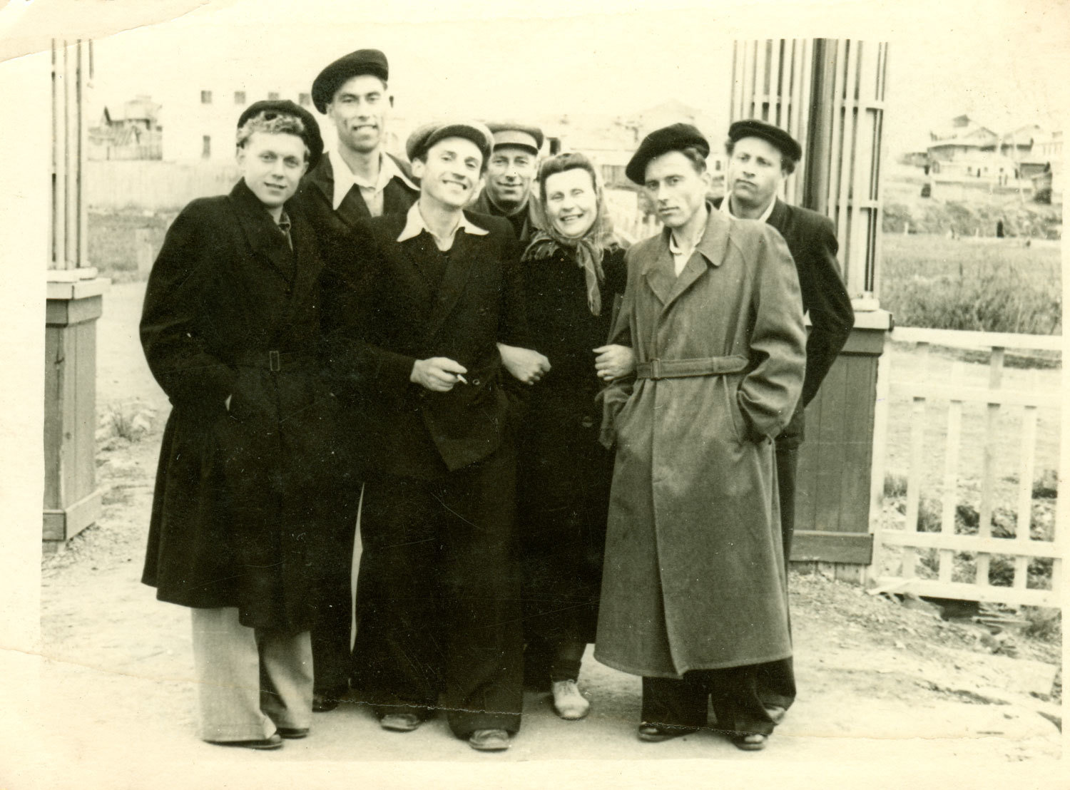 Lithuanian political prisoners in Inta, c. 1956, unknown, Kaunas 9th Fort Museum, CC BY