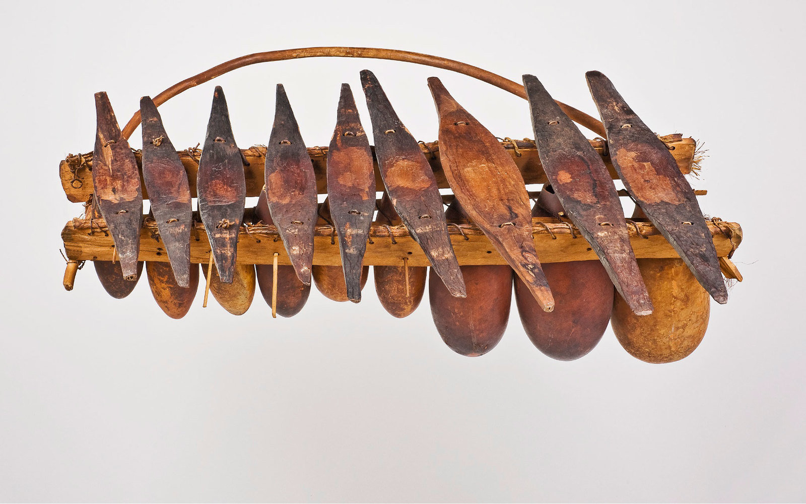Xylophone Kidimba, Anonymous Luba maker, Royal Museum for Central Africa, Tervuren/ Jo Van de Vyver, CC BY-NC-SA