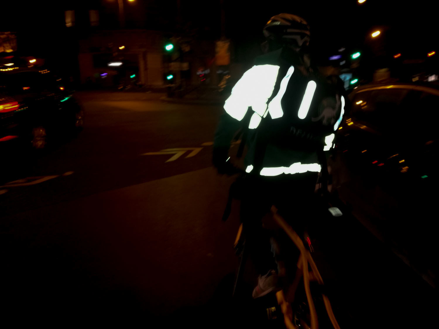 #deliver#phone#night#Paris#bike#shift#work#speed# December 2016, Paris. Bike delivery person, Laura Ben Hayoun, Audiovisual Library of the European Commission, CC BY-NC-ND
