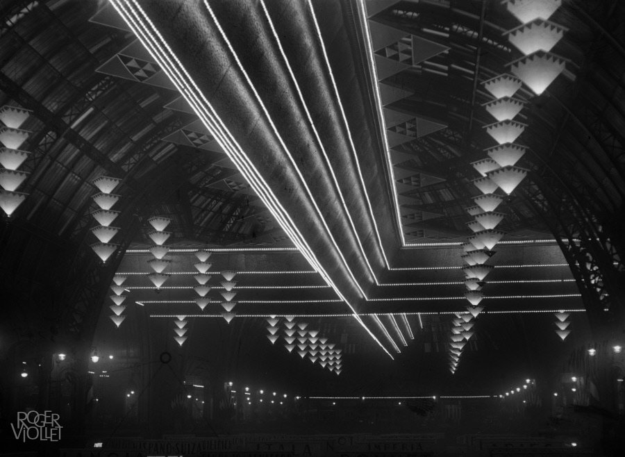 The Grand Palais decorated for the Motor Show, circa 1925-1930, Maurice-Louis Branger/Roger-Viollet, Parisienne de Photographie, In Copyright