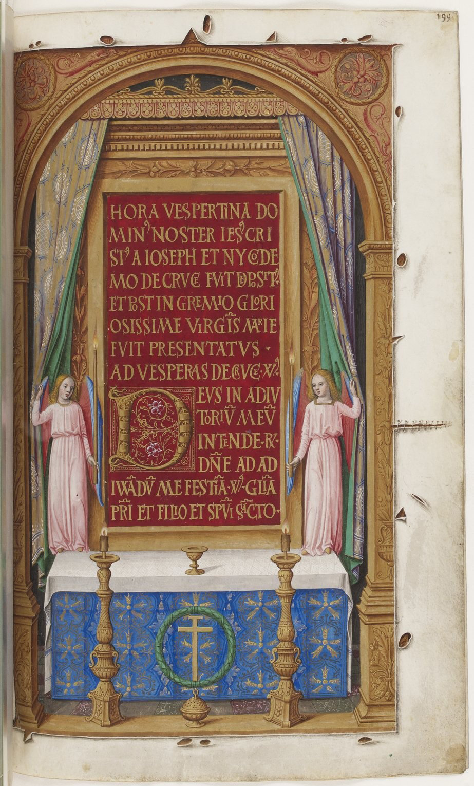 Book of hours of Frederic of Aragon f203, Tours, ca. 1501-1502, French National Library, Manuscripts, 10532 Parchment, 388 p., 255 x 170 mm, In Copyright