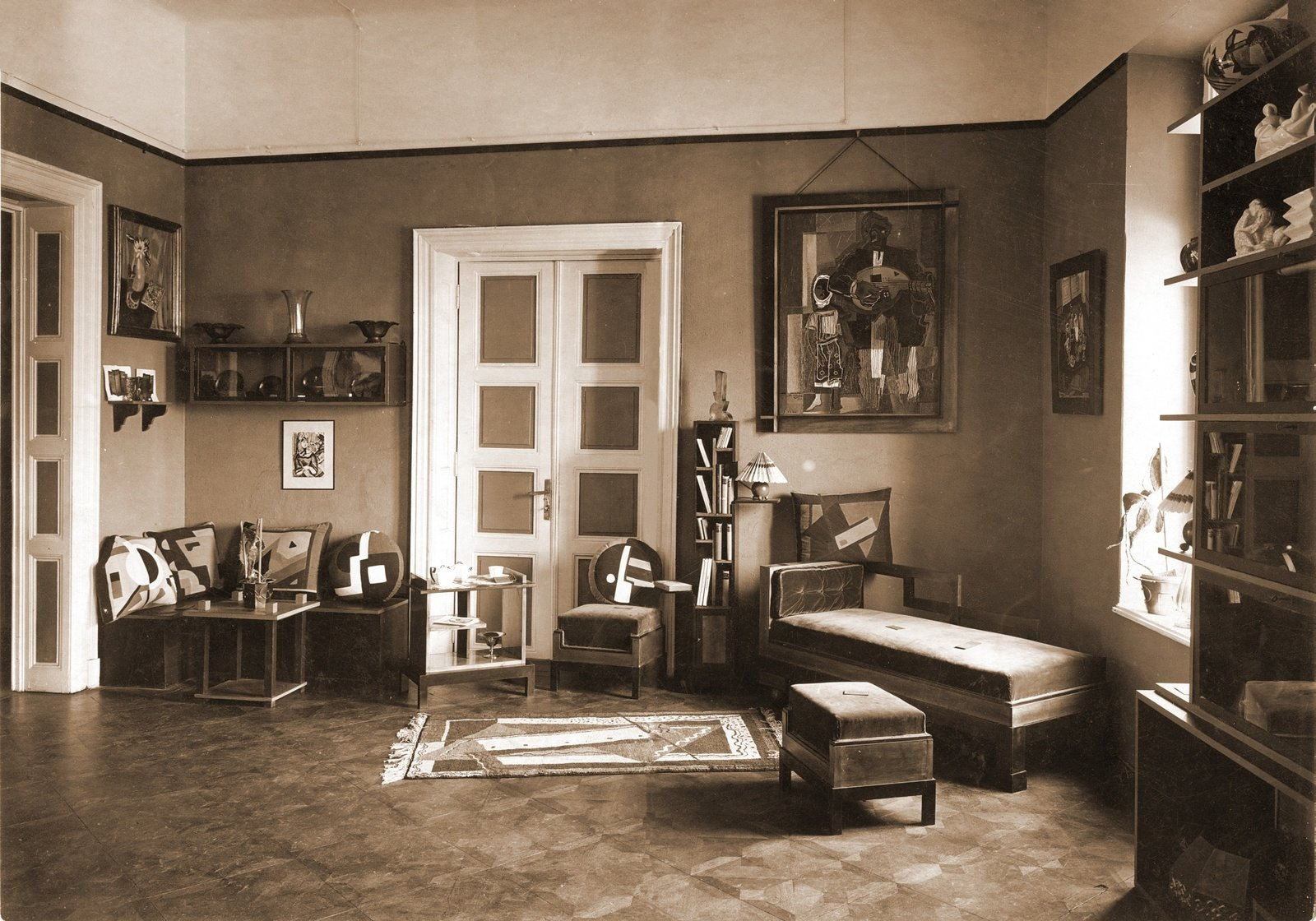 Studio of Decorative Arts, Campineanu Street, Bucharest, 1928, Unknown photographer, , Copyright Not Evaluated