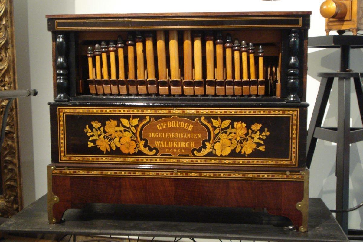 Orgue de barbarie, Bruder, Musée De La Musique Mécanique, CC BY-NC-SA