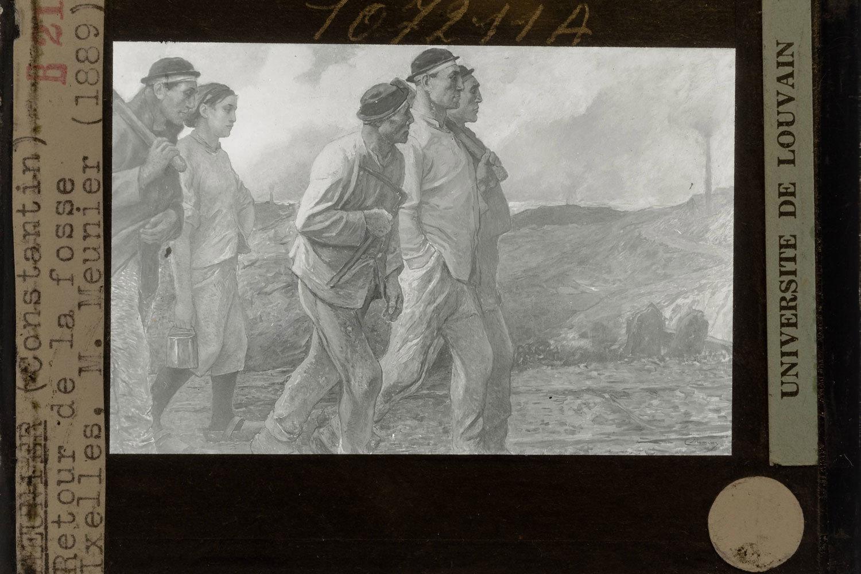 Return of the miners, 1905, Constantin Meunier (original work of art), KU Leuven, CC BY-NC