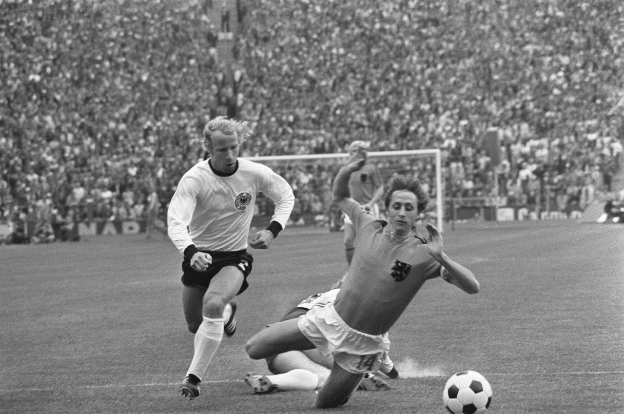 Johan Cruyff, Bert Verhoeff / Anefo, Nationaal Archief, In Copyright