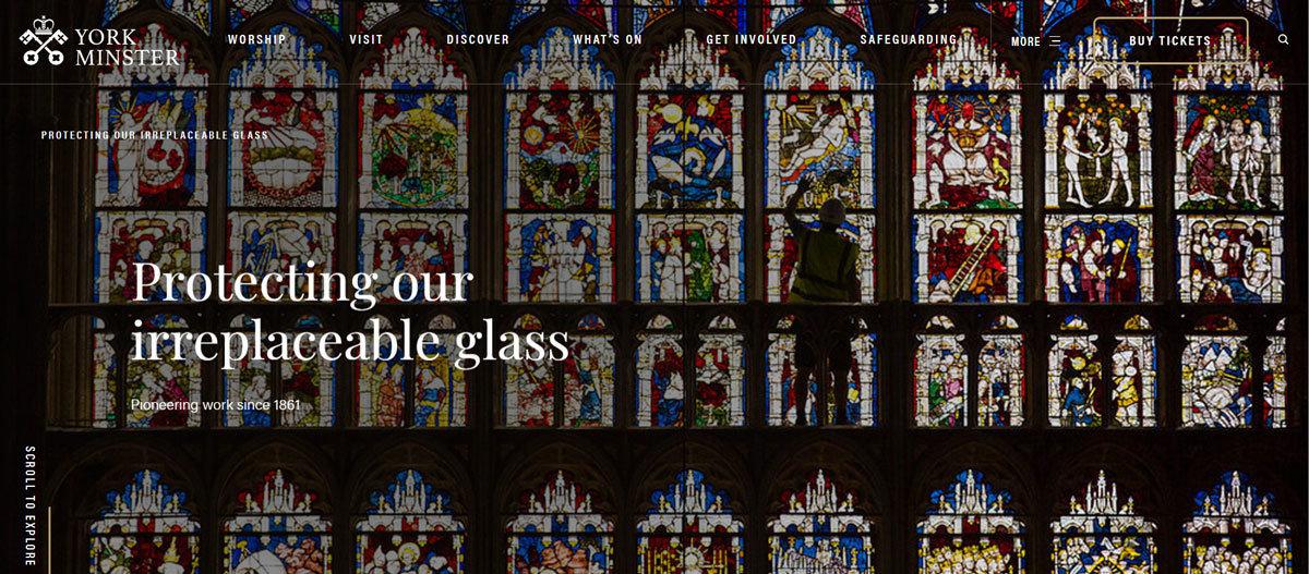 Proteggiamo le nostre insostituibili vetrate dal 1861, York Minster, Chapter of York, In Copyright