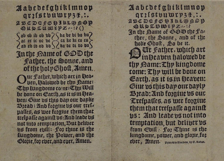 Aabc [...], 1622, Edward Raban, National Library of Scotland, Public Domain Mark