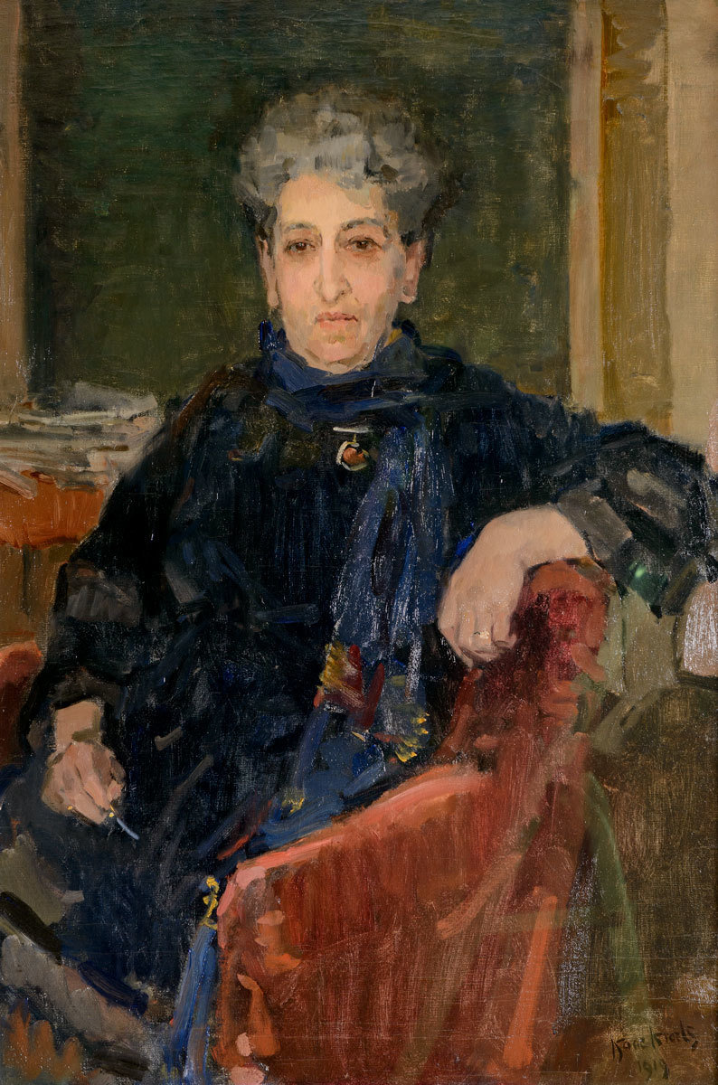 Aletta Jacobs, 1919, Isaac Israels, Collection IAV-Atria, Institute on gender equality and women's history, Public Domain Mark