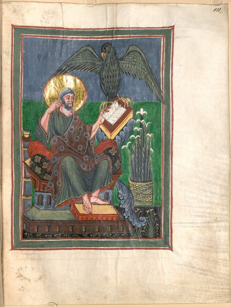 Gospel book 111, Munich, Bayerische Staatsbibliothek Clm 22311 Parchment, 153 ff., 295 x 225 mm, St Gall, late 9th to early 10th century, In Copyright