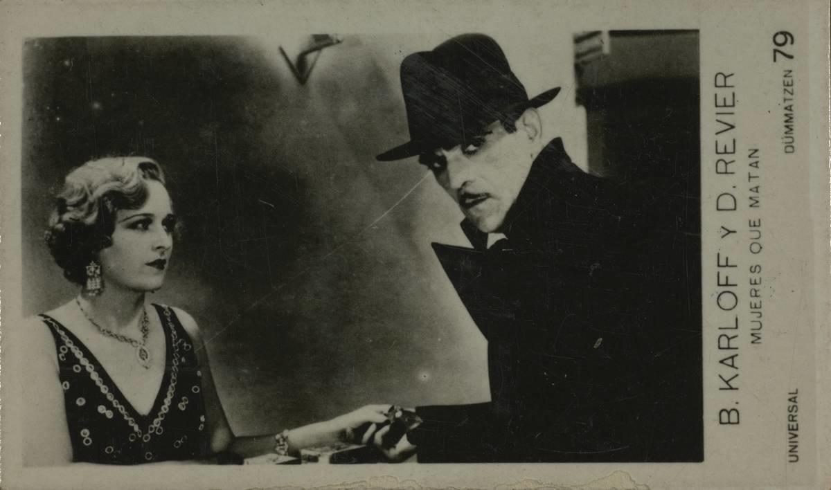 Born in England, William Henry Pratt became star-actor Boris Karloff (alias 'The Grinch') in Canada, 1929/32, Unknown, Ajuntament de Girona, Public Domain Mark