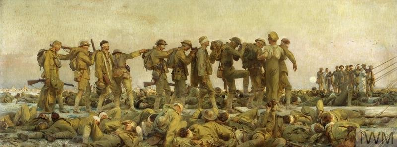 Gassed, 1919, John Singer Sargent, Imperial War Museums, CC BY-NC-ND