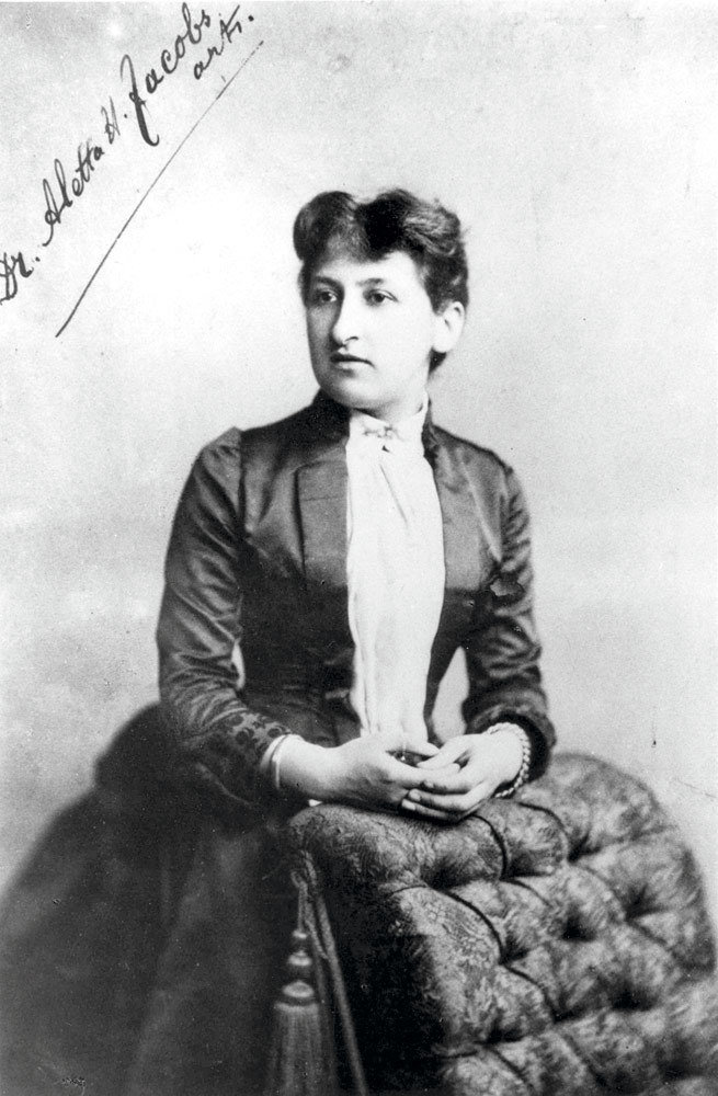 Aletta H. Jacobs, c.1880, unknown, Wikimedia Commons after University of Groningen, Public Domain Mark