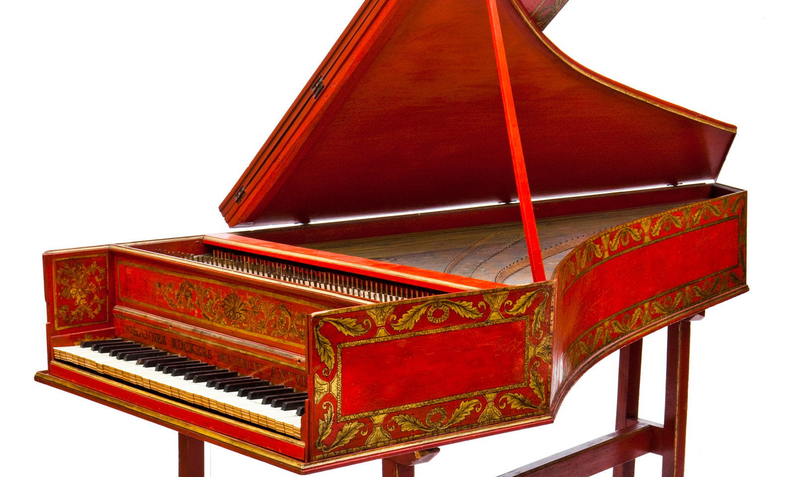 Harpsichord Red, Ioannes Ruckers, University of Edinburgh , CC BY-NC-SA