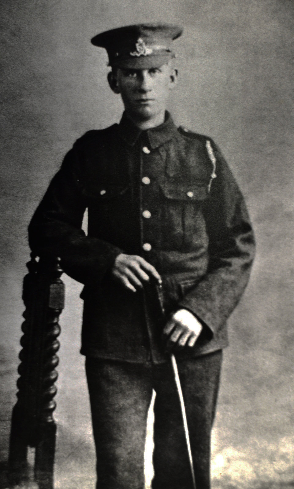 William Rose Townhill in uniform, 26/04/1915,  Europeana 1914- 1918 / Alan Townhill, CC BY-SA