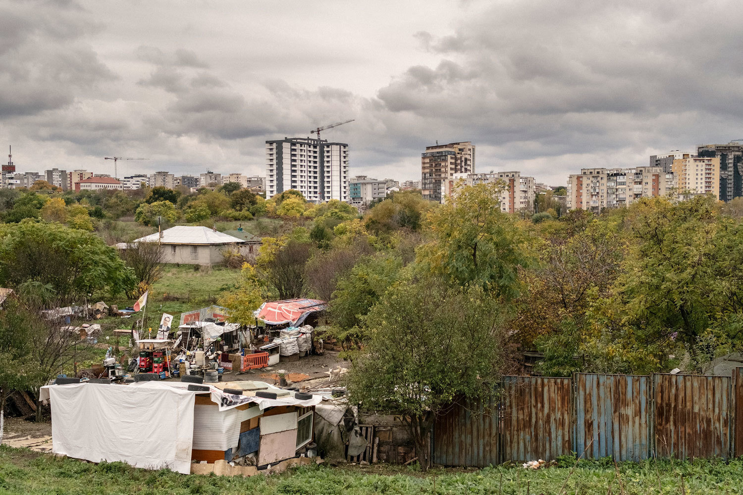 2016 Romania, Bukurest. Slum, Boris Németh, Audiovisual Library of the European Commission, CC BY-NC-ND