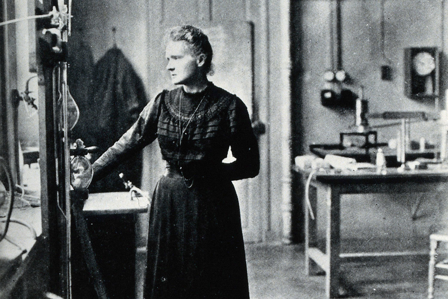 Portrait of Marie Curie [1867 - 1934], Polish chemist (...), Unknown, Wellcome Collection, CC BY