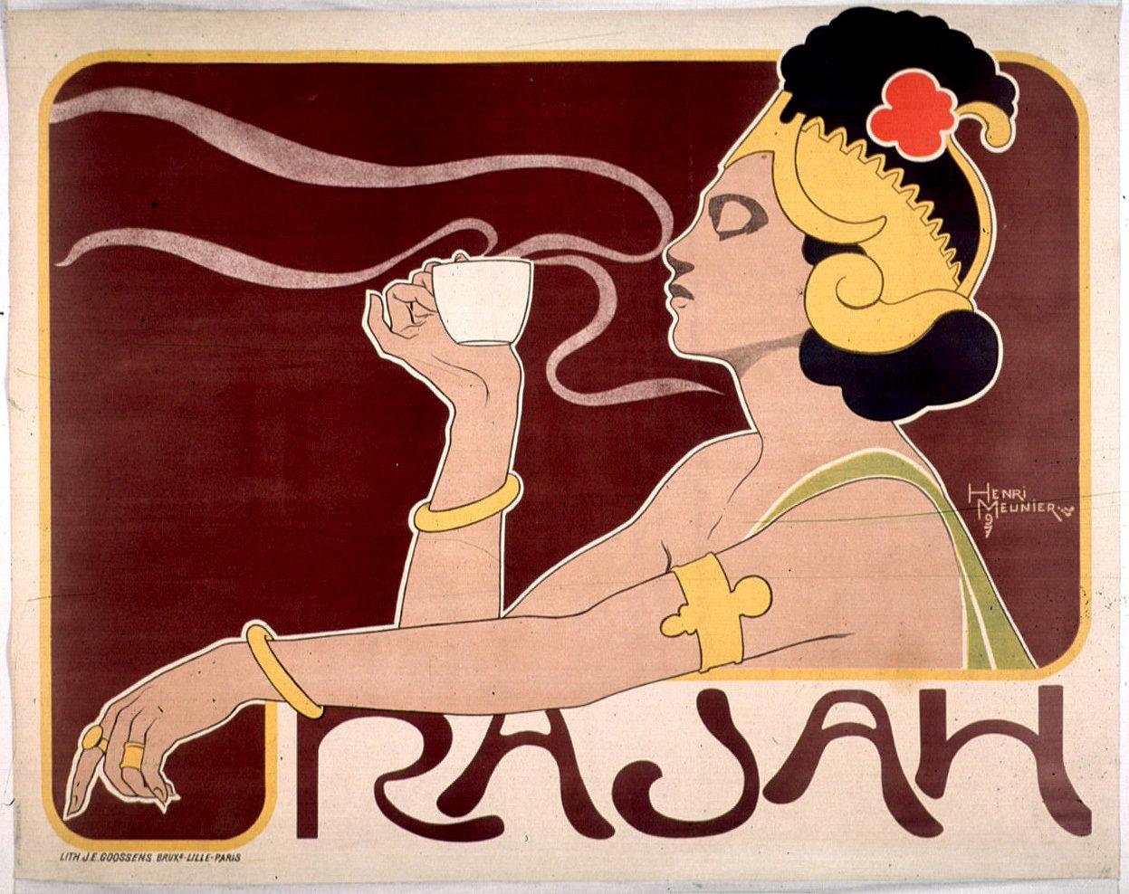 Rajah, Henri Meunier (1873-1922), Bibliothèque municipale de Lyon, Public Domain Mark
