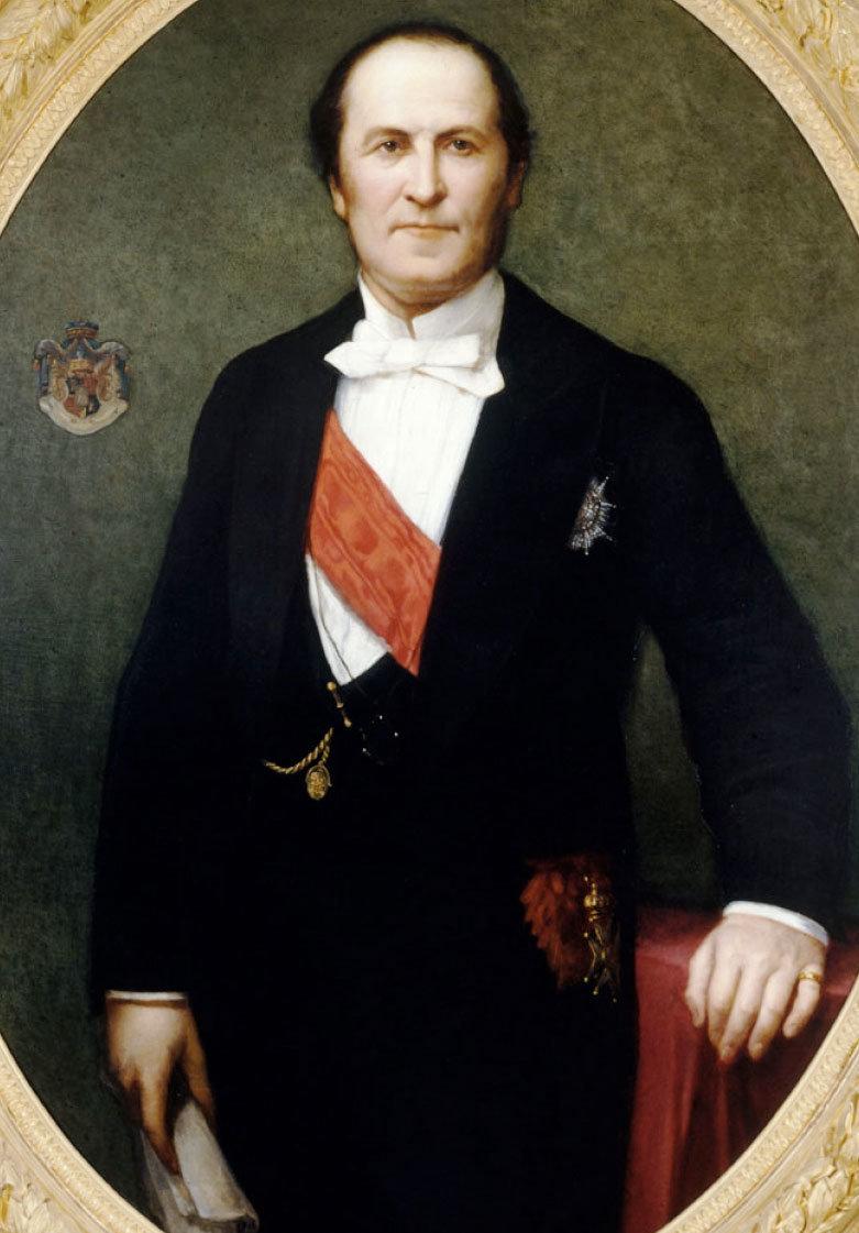 Il barone Georges-Eugène Haussmann, 1860, Henri Lehmann, Musée Carnavalet/Wikimedia Commons, Public Domain Mark